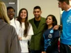Prince Charles spends the afternoon at a National Citizen Service event Shows interior shots Amir Khan having his photo taken with NCS participants...