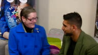 Prince Charles spends the afternoon at a National Citizen Service event Shows interior shots Amir Khan sat with NCS participants on January 20 2015...