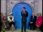 Prince Charles talks to press about Princess Diana's recent dancing with John Travolta Washington DC 10 Nov 85
