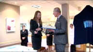 Prince Charles visits Great Yarmouth Store Manager making speech SOT / Charles presented with cake and making small speech SOT Family businesses are...
