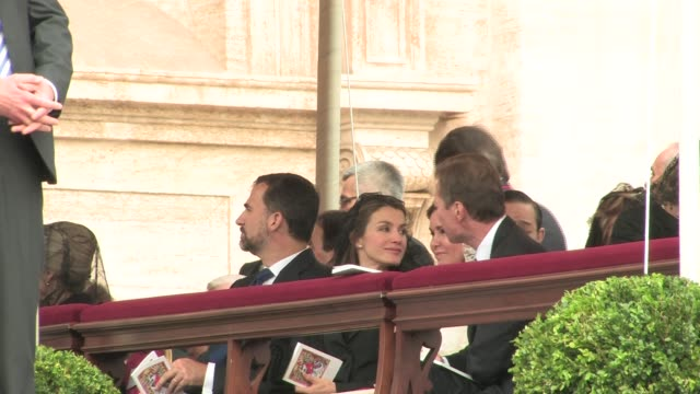 Prince Felipe of Spain Princess Letizia of Spain Henri Grand Duke of Luxembourg and Maria Teresa Grand Duchess of Luxembourg The Beatification of...
