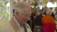 Prince George starts school Dumfries House INT Prince Charles interview SOT [asked did he give any advice to his grandson Prince George on his first...
