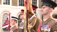 Prince Harry and Prince Charles were amongst the royals and high profile political figures attending a ceremony to honour British soldiers who died...