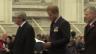 Prince Harry at Anzac Day Parade Prince Harry / Marching band along