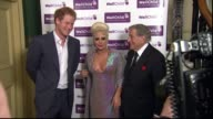 West London Kensington Royal Albert Hall INT Lady Gaga along and talking to organisers / Gaga with Tony Bennett / Prince Harry into room and shaking...