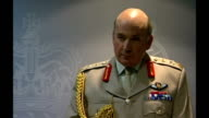 Ministry of Defence statement Question and answer session begins Dannatt interview SOT [On whether he is ruling out forever any chance of Prince...