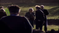Prince of Wales and Duchess of Cornwall visit to the North Day 2 Dunterley Farm ENGLAND Northumberland Bellingham Dunterley Farm Royal helicopter...