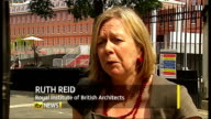 Prince of Wales criticised over Chelsea barracks intervention London Ruth Reid interview SOT