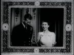 Prince Philip and Princess Elizabeth pose during their engagement announcement Princess Margaret also joins in Prince Philip and Princess Elizabeth...