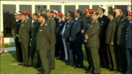 Prince Philip attends military air display Various shots of military air display watched by Prince Philip Sheikh Mohammed bin Rashid and other...