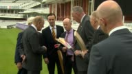 Prince Philip visits Lord's cricket ground to open the new Warner Stand ENGLAND London St John's Wood Lord's Cricket Ground INT Prince Philip Duke of...