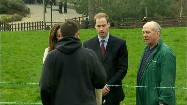 Prince William and Kate Middleton visit Belfast Greenmount Agricultural College NORTHERN IRELAND County Antrim Greenmount Agricultural College EXT...