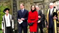 Prince William and Kate Middleton wedding speculation Sarah Burton will design wedding dress LIB Fife St Andrews EXT Prince William and Kate...