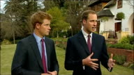 Prince William and Prince Harry interview Prince William interview SOT I adore Africa because its so different like getting away from cities like...