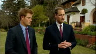 Prince William and Prince Harry interview Prince William interview SOT Was quite fun travelling around Africa with Harry Getting to see Tusk projects...