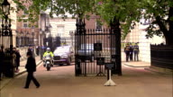 Prince WIlliam and Prince Harry travel to Westminster Abbey in a Bentley Available in HD