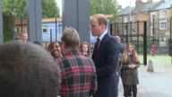 Prince William at Hammersmith Academy on September 21 2015 in London England