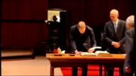 Prince William becomes fellow of the Royal Society at 350th anniversary event **Faint audio** Side view of man speaking at podium SOT / Queen Prince...