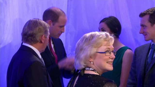 Prince William meeting nominees at Sports Personality of the Year awards ENGLAND Birmingham PHOTOGRAPHY *** GVs Sports Personality of the Year...