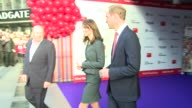 Prince William The Duchess of Cambridge at ICAP on December 09 2015 in London England