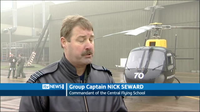 Prince William to learn to fly with the RAF Lincolnshire RAF Cranwell EXT Group Captain Nick Seward interview SOT will be hard for him