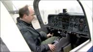 Prince William to learn to fly with the RAF RAF Cranwell Lincolnshire Sleaford RAF Cranwell Unidentified RAF flying instructor seated in RAF...