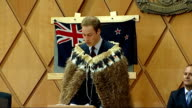 Prince William tour day two opening of Supreme Court in Wellington John Key introducing Prince William SOT Prince William speech SOT Chief Justice...