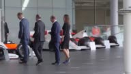 Prince William visits the McLaren Automotive Production Centre to meet the team behind the British automotive company responsible for creating some...