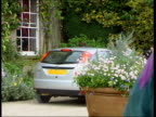 Princes Collection 2 T26079904 Gloucestershire Highgrove Prince William drives learner car up drive William introduces instructor Sergeant Chris...