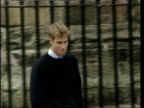 Princes Collection 3 T21090109 William starts university at St Andrew's St Andrew's Prince William walking towards with father both walking camera...