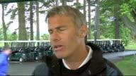 Prince's Trust Celebrity Golf interviews Robert Lee interview SOT