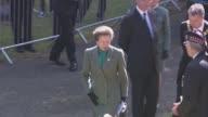 Princess Anne and Nicola Sturgeon attend Memorial service SCOTLAND Dumfriesshire Near Gretna Green EXT Memorial service / Anne Princess Royal...