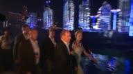 Princess Charlene and Prince Albert II of Monaco at the Monaco Royal Wedding Jean Michel Jarre Concert at Monaco