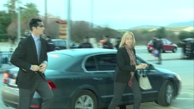 Princess Cristina and her husband Iñaki Urdangarin arrive at court for fraud trial This is the first time a member of Spanish Royal Family has been...
