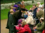 Princess of Wales not going to Sandringham for Christmas Norfolk Sandringham MS SIDE Princess of Wales with Princes William and Harry LR and greets...