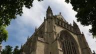 Princeton University Chapel / Wide low angle shot