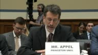 Princeton University Professor of Computer Science Andrew Appel tells members of a House Oversight and Government Reform subcommittee that there are...