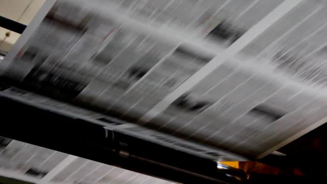 Drucken von Zeitungen