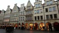 Prinzipalmarkt im Münster, Deutschland – in Echtzeit