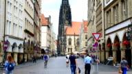 Prinzipalmarkt im Münster, Deutschland