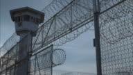 CU prison gate opening and closing, Lamberton, Pennsylvania, USA