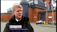 Army on standby to run Britain's jails after strike action threatened by prison officers ENGLAND Midlands Birmingham Prison EXT Brian Clarke...