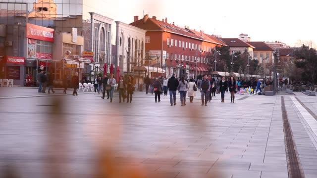 Pristina city center