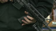 Private Sales of Assault Weapons at The Nation's Gun Show at the Dulles Expo Center on December 28 2012 in Dulles Virginia