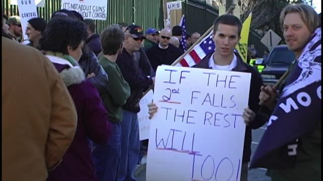 Pro Gun Rally at Virginia State Capitol on January 19 2013 in Richmond VA
