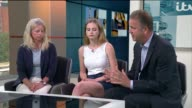 Problems of time delays in treating anorexia ENGLAND London GIR INT Stephen Hollings Julia Hollings and Philippa Hollings LIVE interviews SOT re...