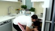 Problemen met het maken van het diner