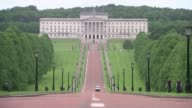 ProBrexit donation at centre of transparent funding row Belfast David Ford MLA interview SOT/ GVs Stormont Assembly building/ INT Close shot of 'Who...