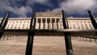 ProBrexit donation at centre of transparent funding row NORTHERN IRELAND Belfast EXT Stormont Hotel Arlene Foster MLA and group of DUP MPs along to...