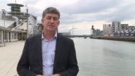 ProBrexit donation at centre of transparent funding row SCOTLAND Glasgow EXT Reporter to camera